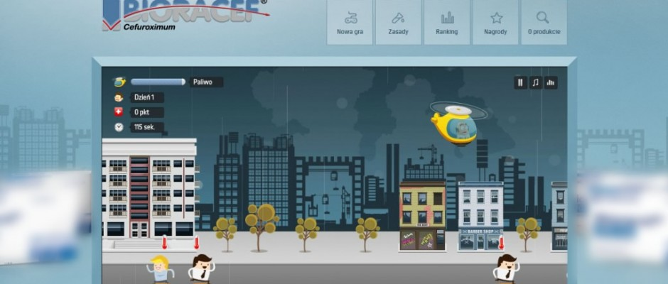 Few editions of action game Bioracef Heli where the best users could win some prizes. Inside game you can find many levels of difficulty where more and more people will come (as well as some monsters), which you must heal using your helicopter. Players can use their points to buy[...]