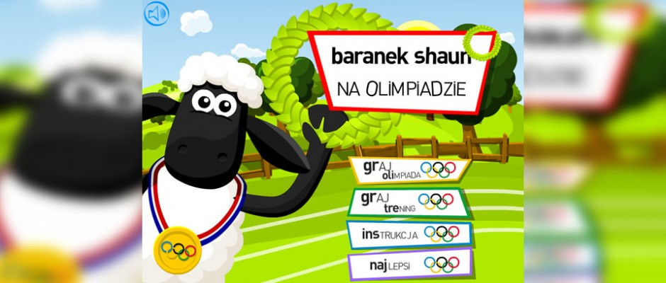 Shaun the Sheep Olympic game (Baranek Shaun na Olimpiadzie) is a game created for TeleToon+ website. There are numbers of different sports as well as heroes to select. So far it is most popular game on TT+.