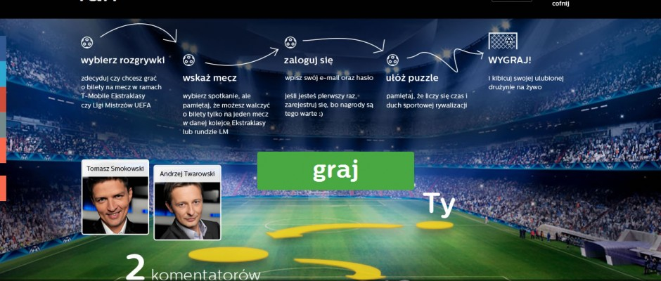 Jisgsaw with unique shapes created for fan+ website where users may win some tickets on soccer games. Game was created in two versions: Flash and HTML5.