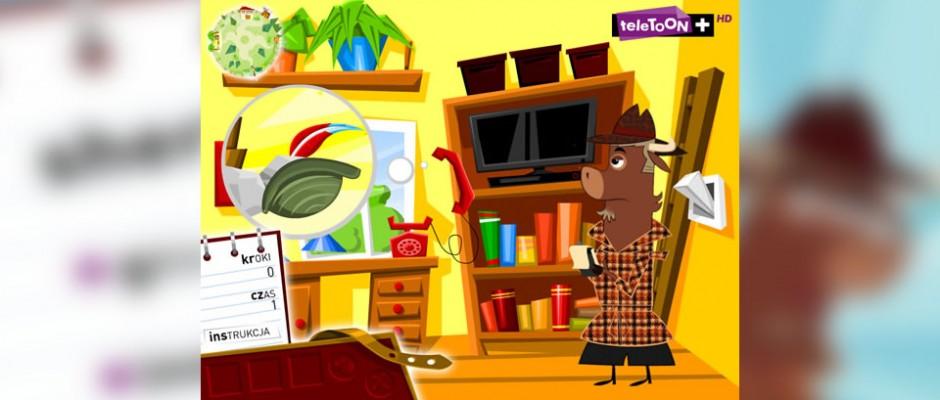 An adventure game with Sherlock Yack (Sherlock Jak) for TeleToon+ website.