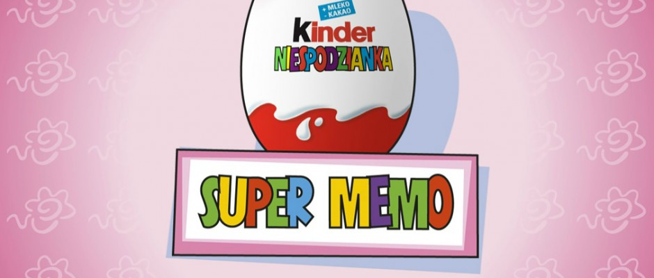 Super Memo is a memory game created for Kinder Niespodzianka with three levels of difficulty.